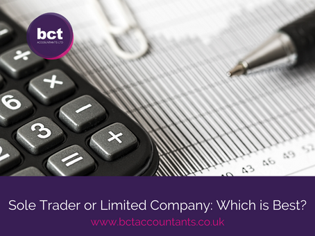 Sole Trader or Limited Company: Which is Best?