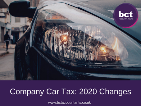 Company Car Tax: 2020 Changes