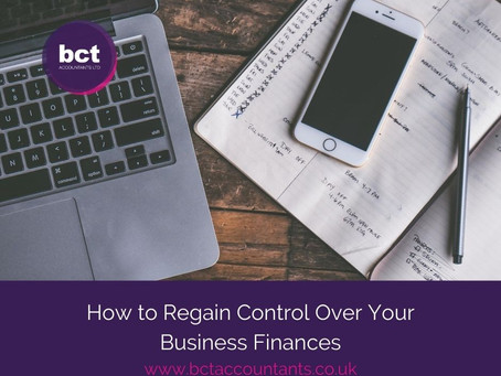 How to Regain Control Over Your Business Finances