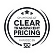 Clear Transparent Pricing Award by GoPro