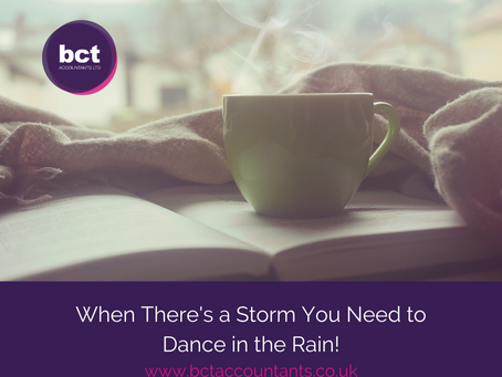 When There's a Storm You Need to Dance in the Rain!