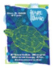 HOTD Blue Reef Gig Flyer