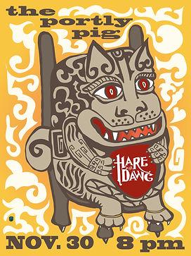 HOTD Lion Dawg Gig Flyer