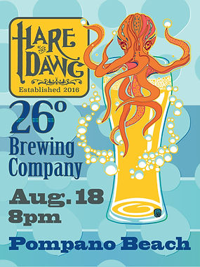 HOTD 26 Degrees Brewing Co Gig Flyer