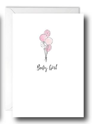 Baby Girl Ballons