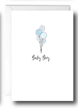 Baby Boy Ballons