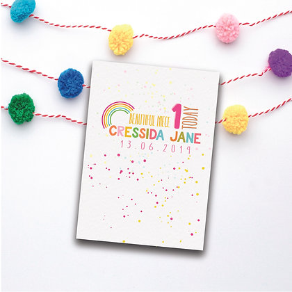 A5 Personalised Card