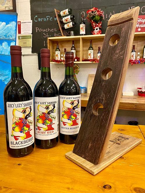 Barrel Wine Holder