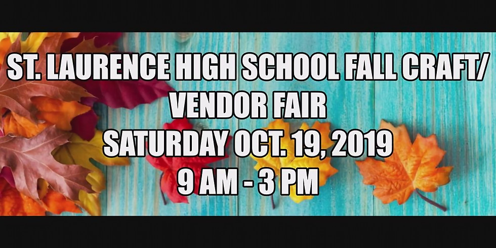 St. Laurence - Fall Craft and Vendor Fair