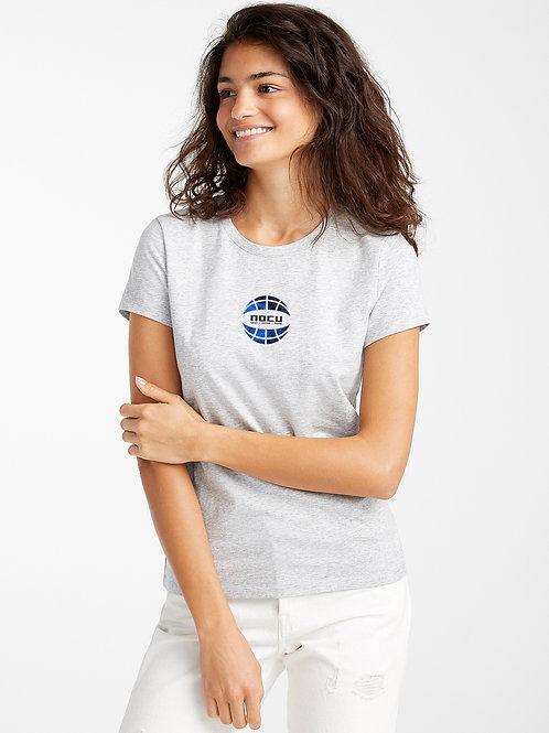Globe Textures T-Shirt (Grey)