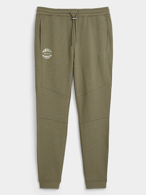 Globe Watercolor Joggers (Olive)