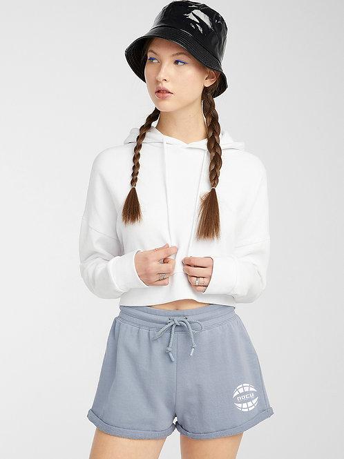Watercolor Sweat Shorts (Blue)