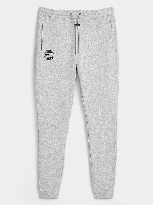 Globe Watercolor Joggers (Grey)