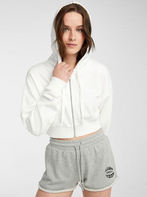 Watercolor Sweat Shorts (Grey)