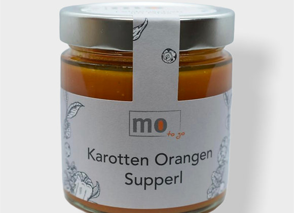 Karotten Orangen Supperl
