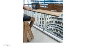 Lamana Balcony Shelf on 8list.PH