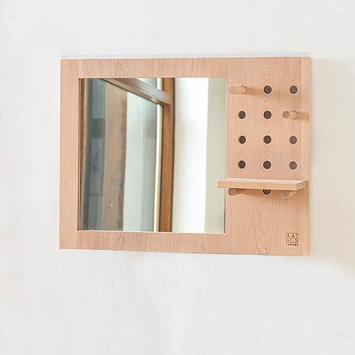 Slots Hanging Mirror