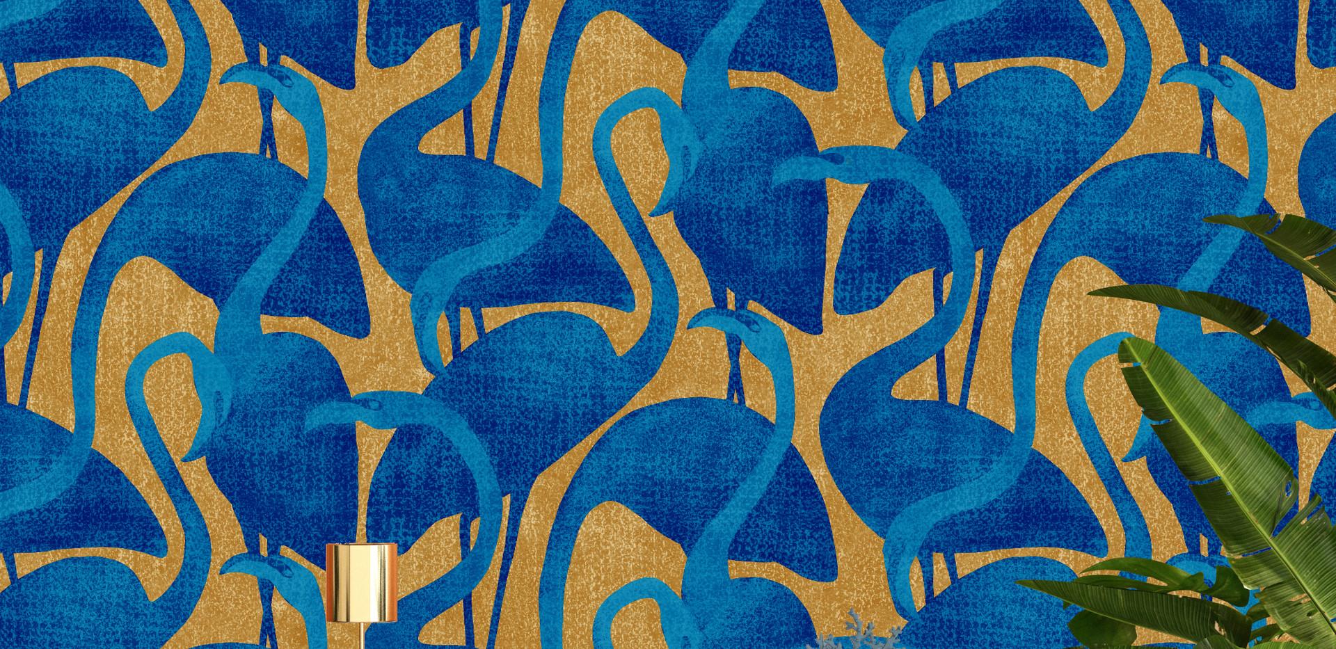 Flamantrose-doré-bleu-mise_en_situation