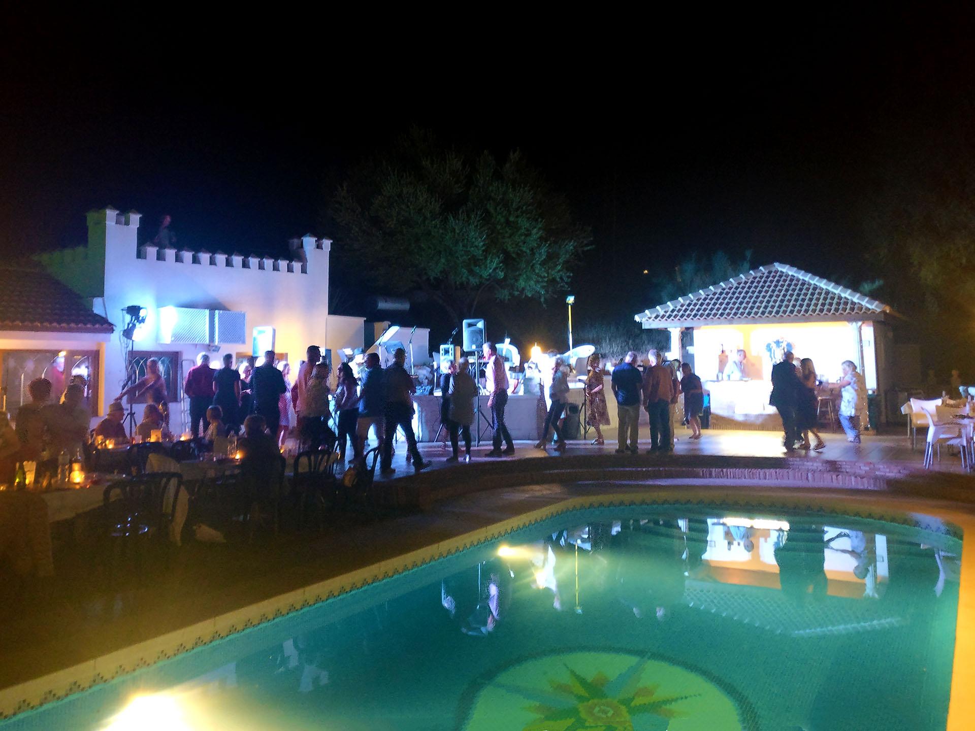 Party at night