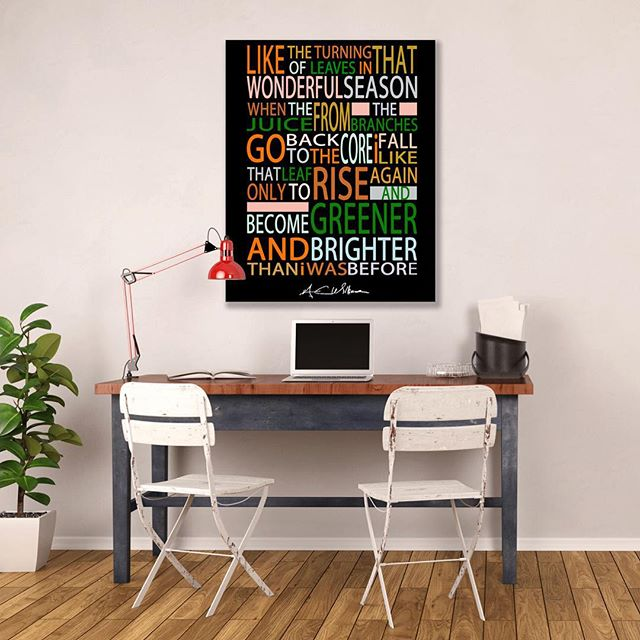 FALL Poster $25 ImSimplyArtistic #Etsy #Etsyshop #etsyseller #poetry