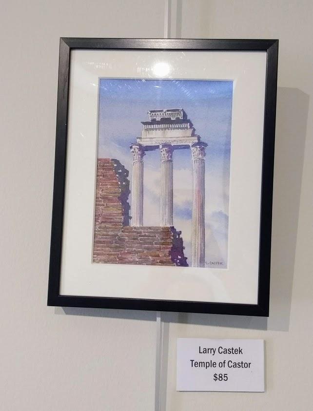 Temple of Castor Larry Castek