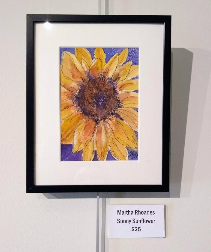 Sunny Sunflower Martha Rhoades
