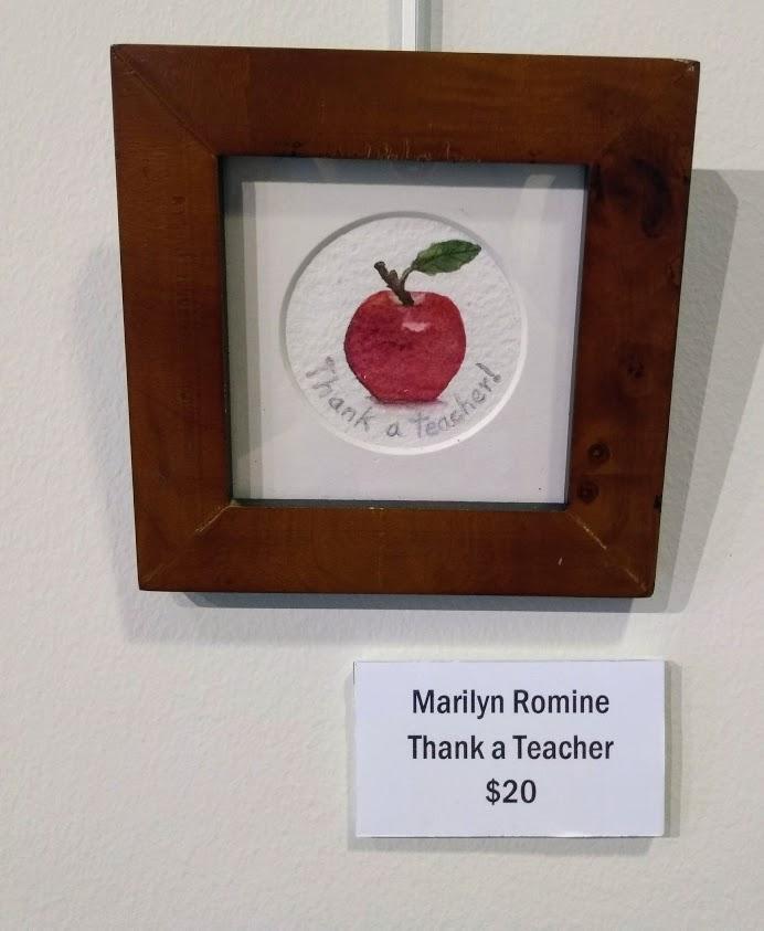 thanks a teacher marilyn Romine