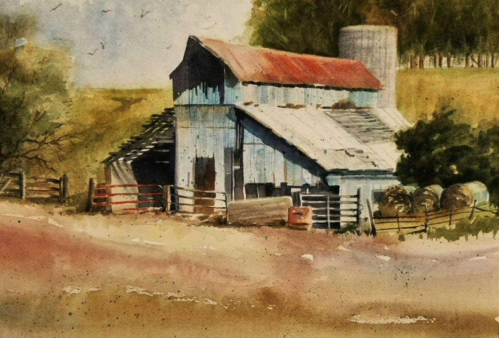Iowa Barn - Wallingford