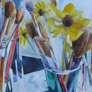 Rudbeckias Brushes