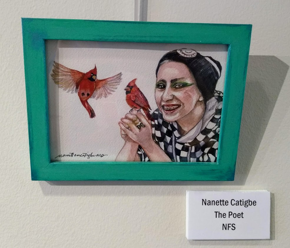 the Poet Nanette Catigbe