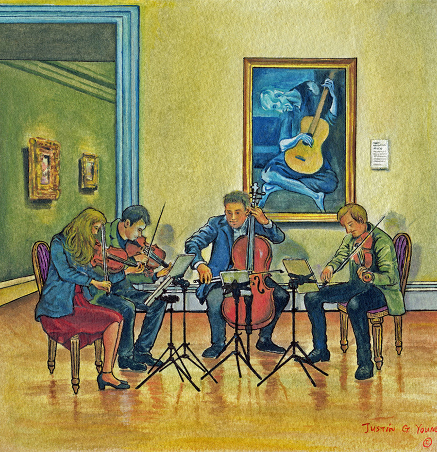 Quintet with Picasso