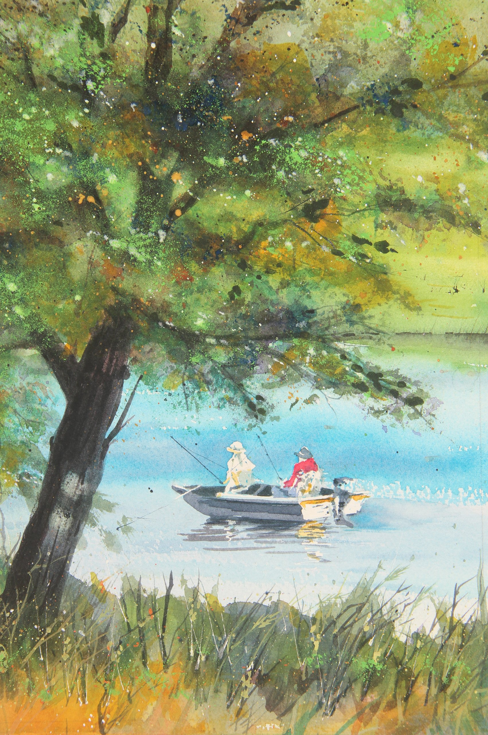 Fishing Red Haw