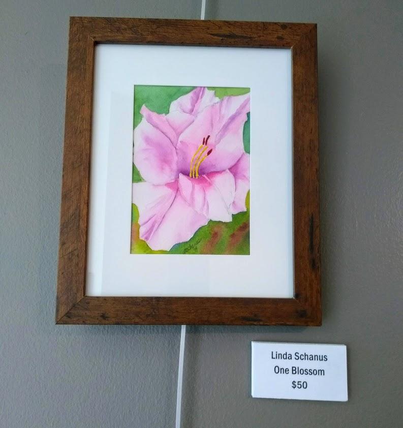 one blossom Linda Schanus