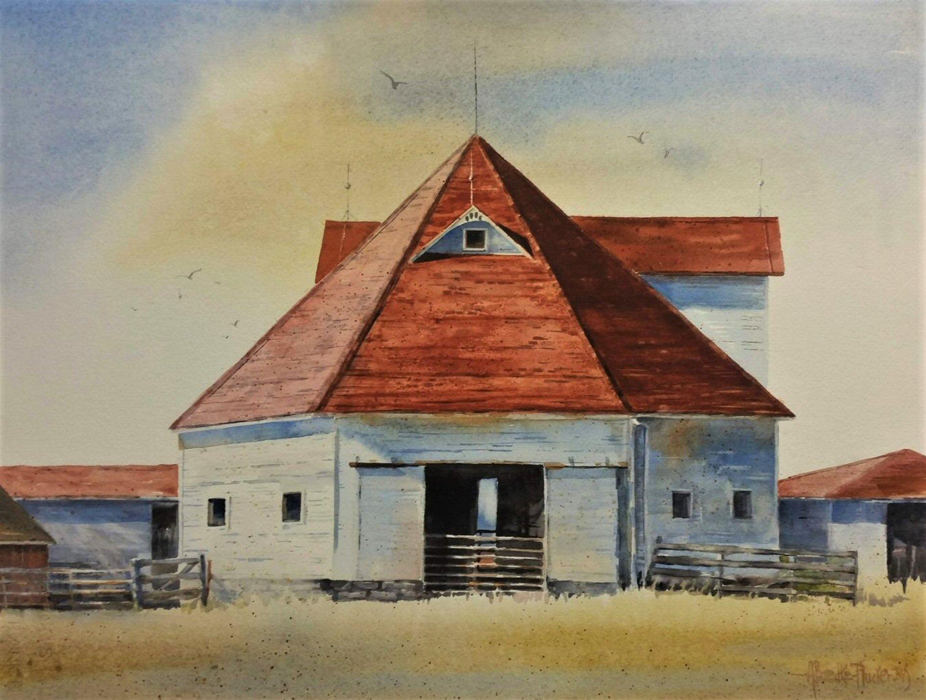 Iowa Barn - Montezuma