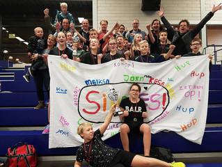 Groep 8 Drents kampioen trefballen.