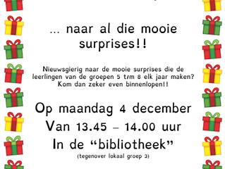 Surprise bewonderen op 4 december