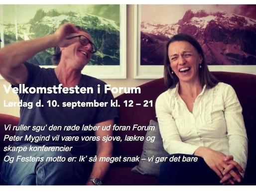 Hold nu fest - er det fuldstændigt vanvittigt at have booket Forum Cophenhagen?