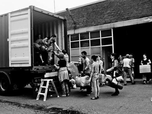 Min ide var en kuffert nødhjælp men blev til 200 tons og 500.000 kr. til Lesbos...