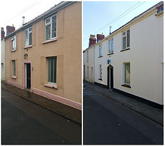 Cardiff Exterior Painting - House painting, Wall Painting, External Paintig, fence painting