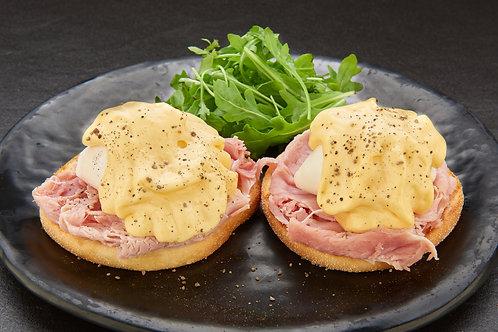 Ham Eggs Benedict