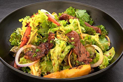 Organic Beef Kale Salad