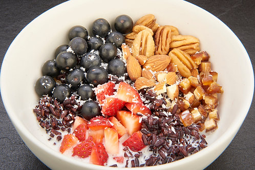 Rice-berry Quinoa Bowl