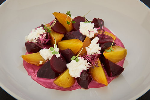 Yellow & Red Beetroot Salad