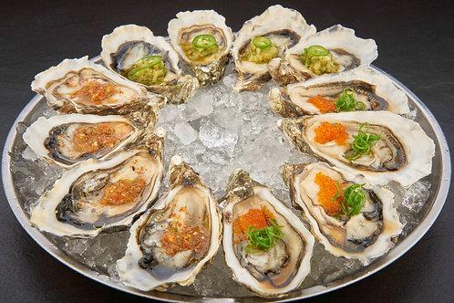 Ostra Regal Oysters No. 3 12 pieces