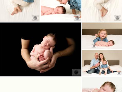 Newborn fotografie Roosendaal