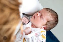 newborn lifestyle shoot