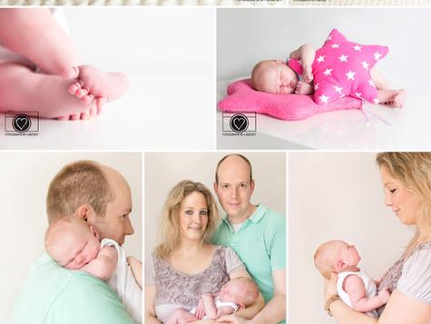 Newborn babyfotografie Roosendaal