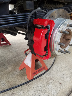 Painted and clear Caliper 2