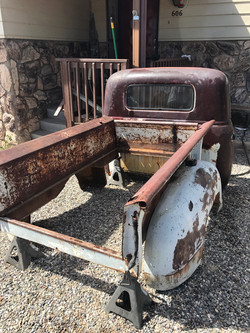 GMC truck toddler bed