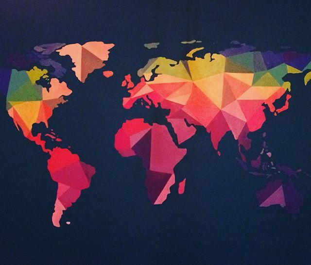Mapa Mundial (Mural, CDMX)